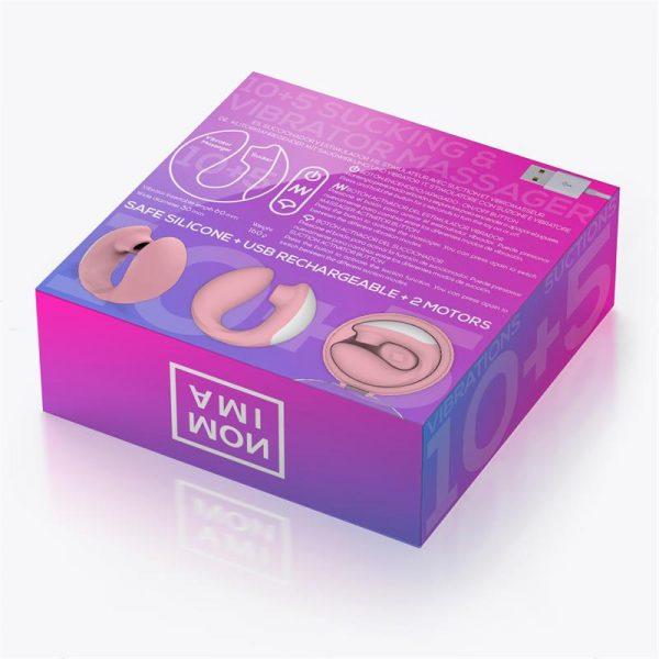 Vibratorius ir klitorio stimuliatorius MONAMI